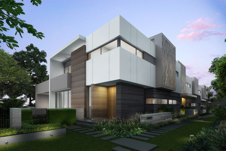 3D 12 Mountain Gve, Kew - Exterior view